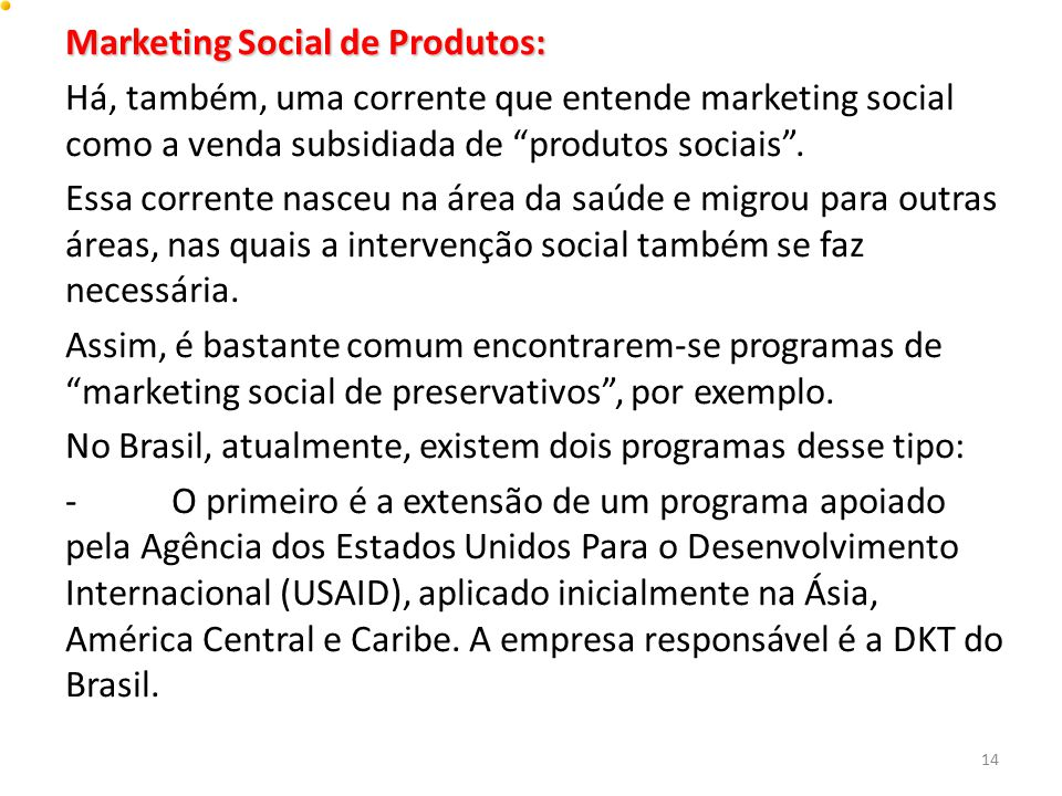 Marketing Social de Produtos: