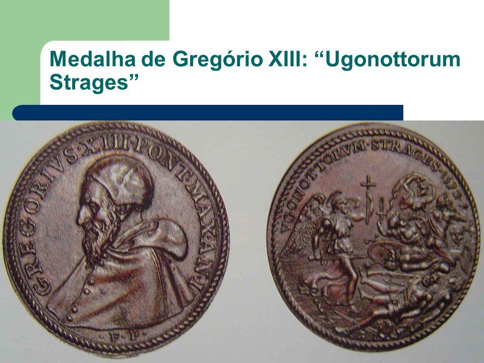 Medalha de Gregório XIII: Ugonottorum Strages