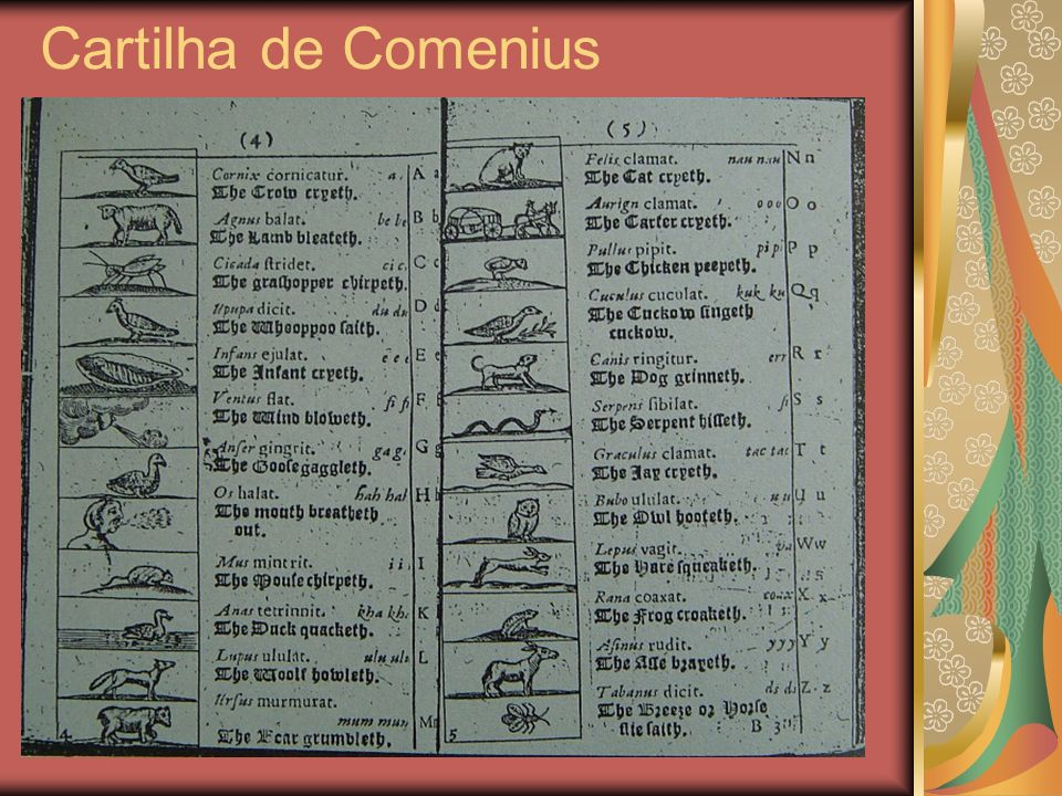 Cartilha de Comenius