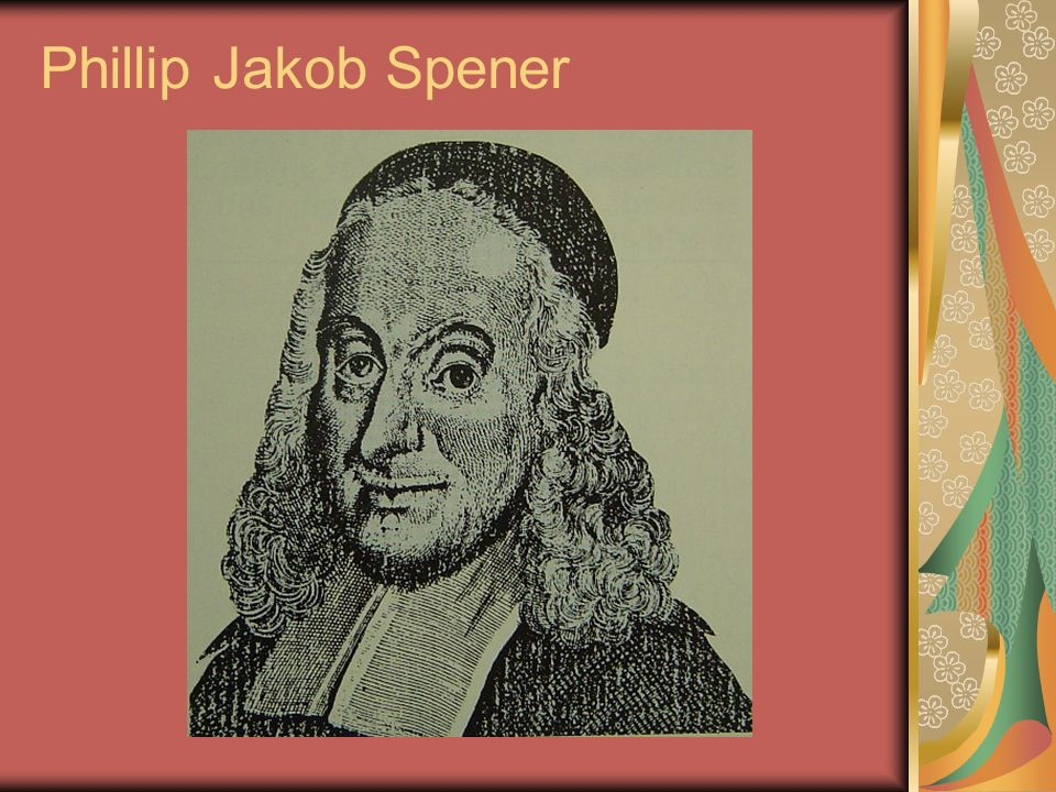 Phillip Jakob Spener