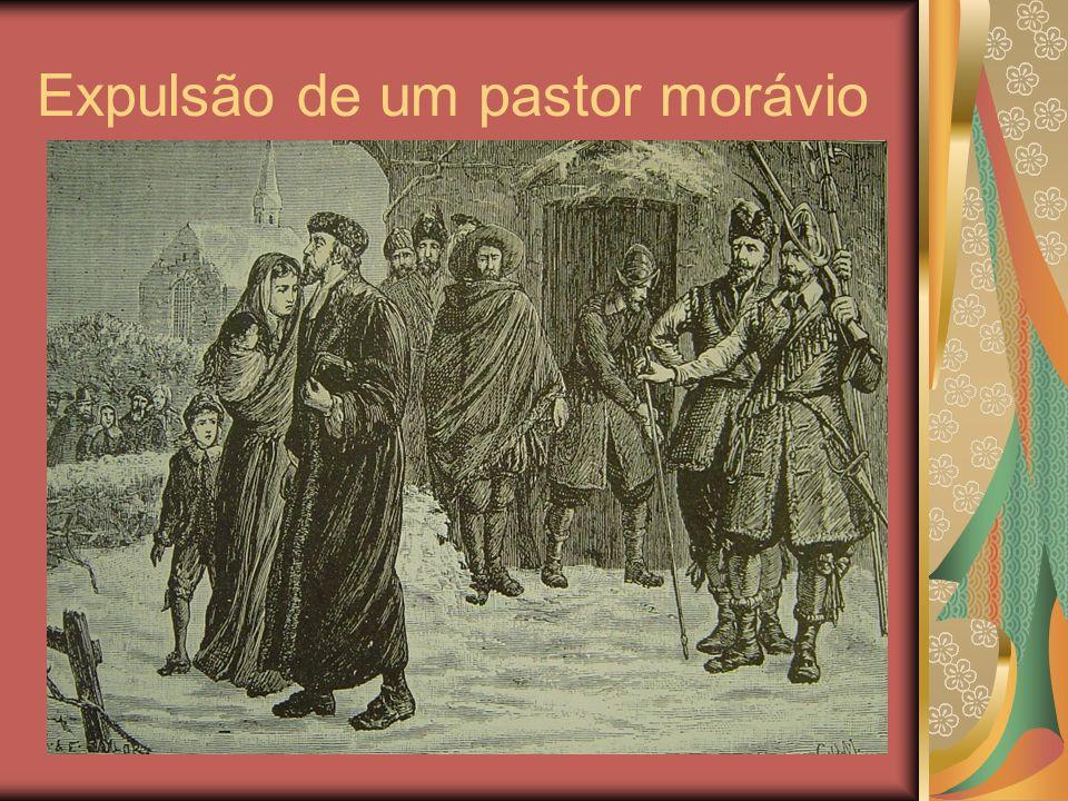 Expulsão de um pastor morávio