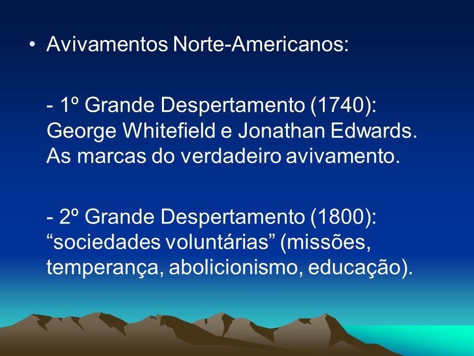 Avivamentos Norte-Americanos: