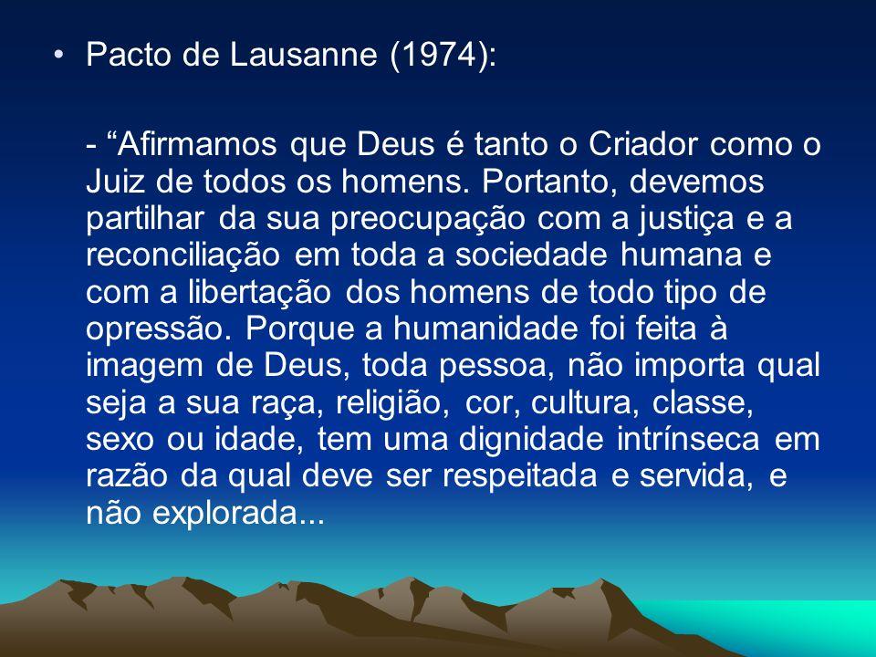 Pacto de Lausanne (1974):