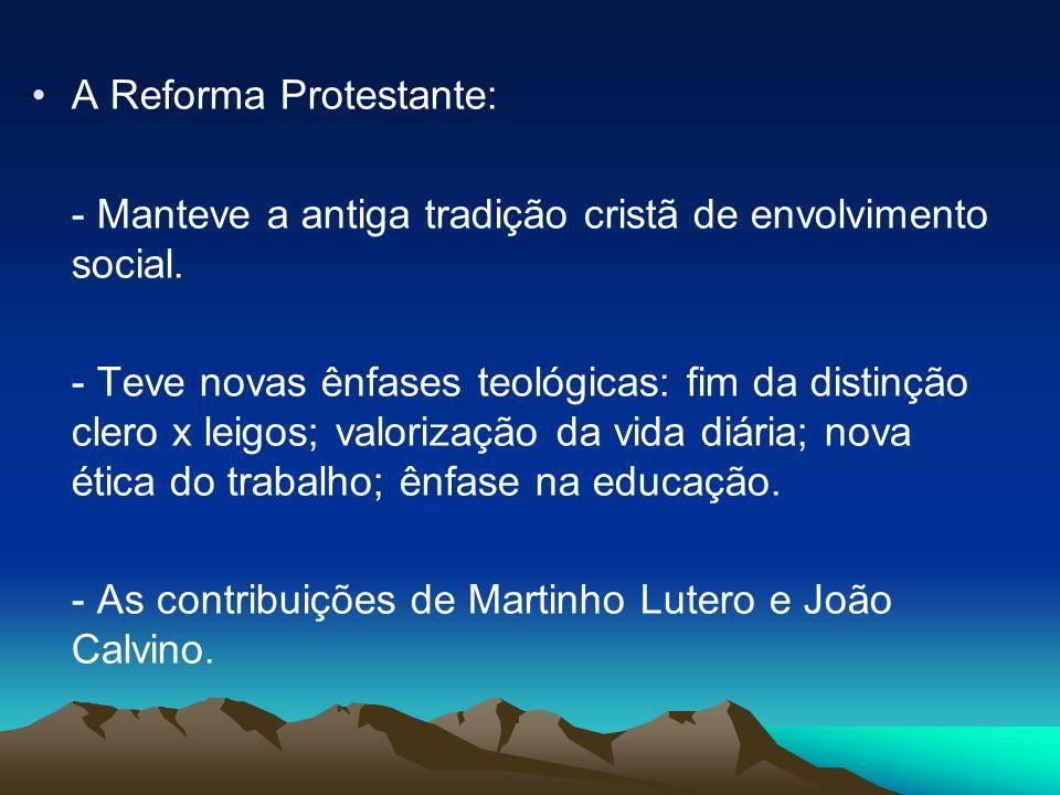 A Reforma Protestante: