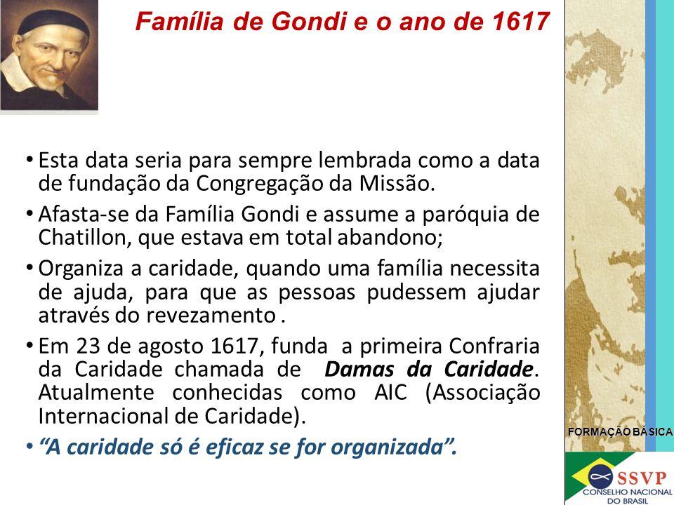 Família de Gondi e o ano de 1617