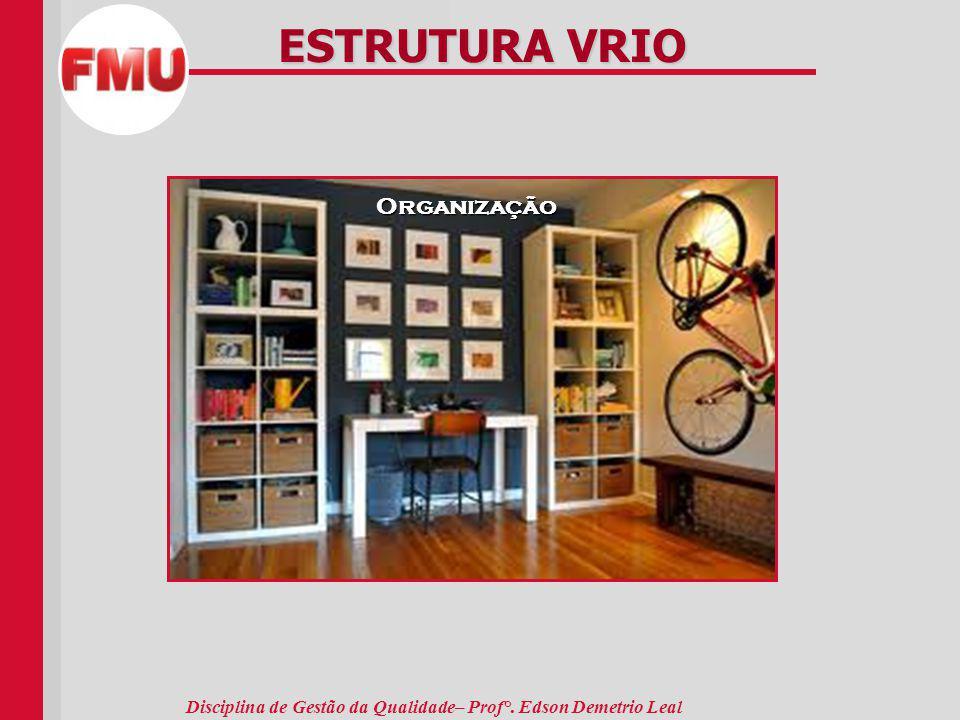 ESTRUTURA VRIO Organização Valor Imitabilidade Organização Raridade