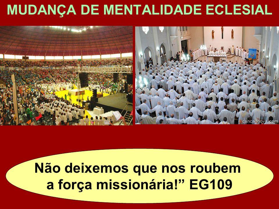 Não deixemos que nos roubem a força missionária! EG109