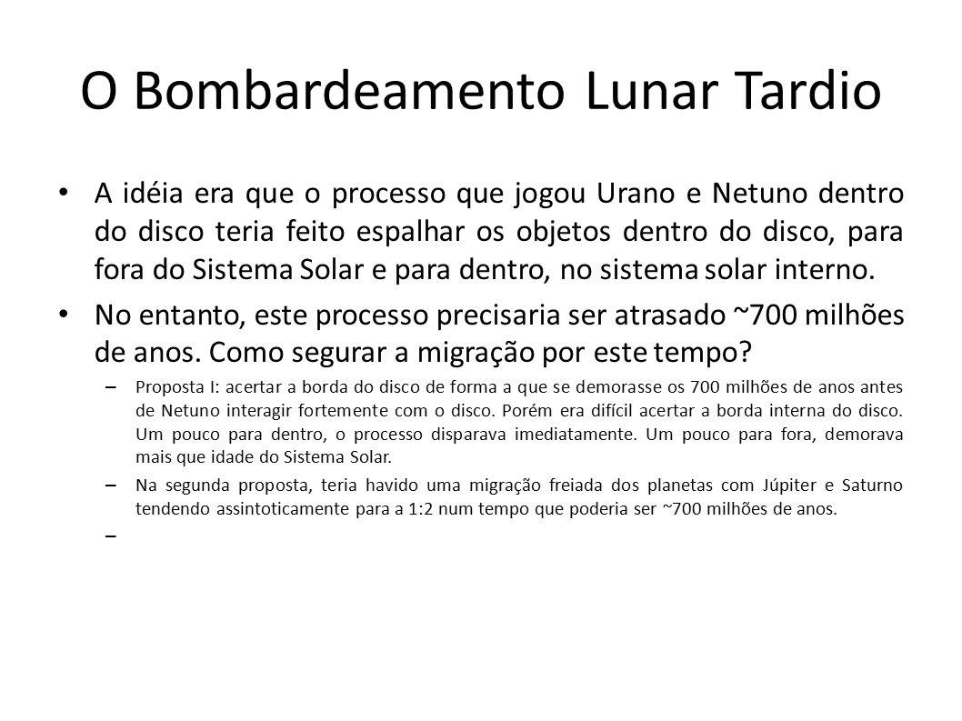 O Bombardeamento Lunar Tardio