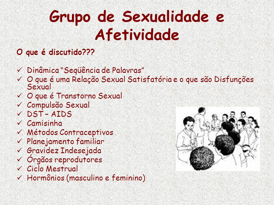 Grupo de Sexualidade e Afetividade