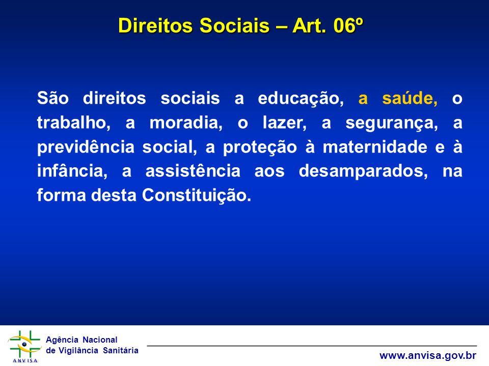 Direitos Sociais – Art. 06º