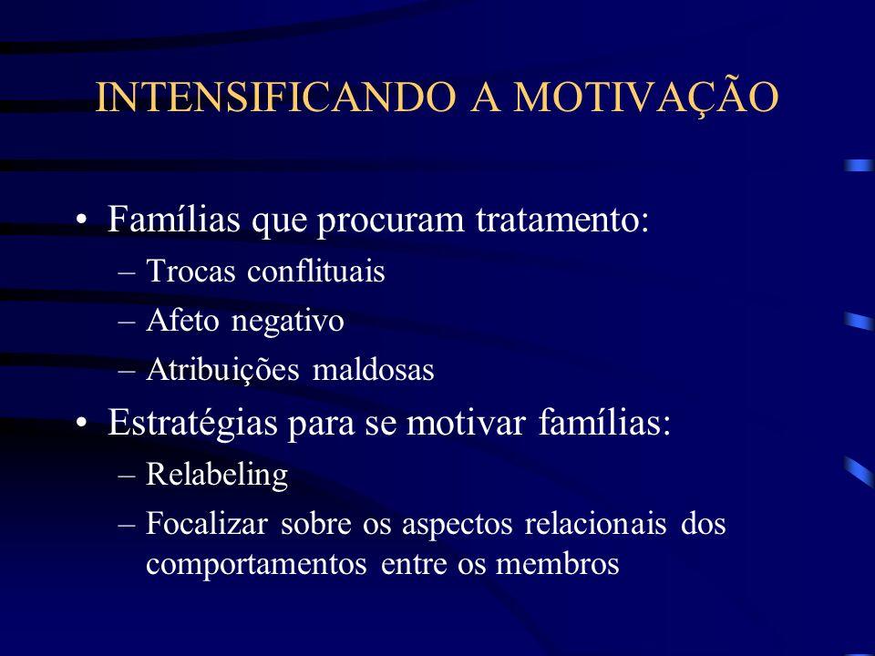 INTENSIFICANDO A MOTIVAÇÃO