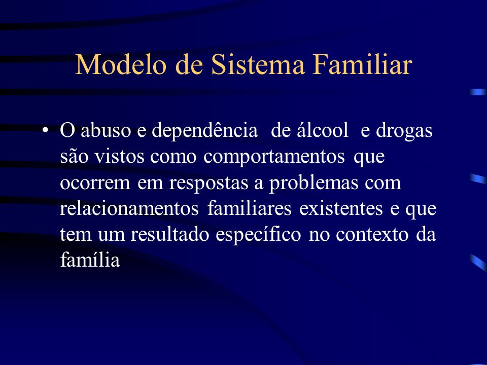 Modelo de Sistema Familiar