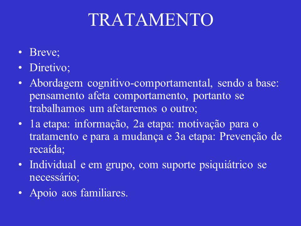 TRATAMENTO Breve; Diretivo;