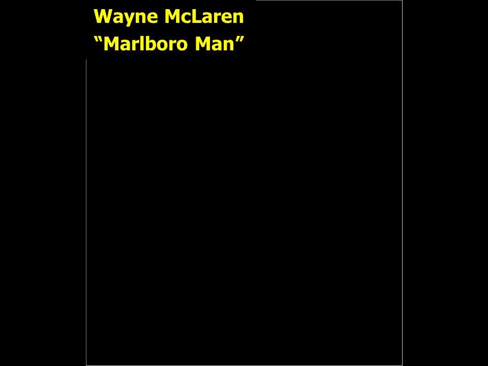 Wayne McLaren Marlboro Man