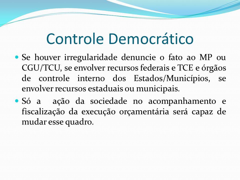 Controle Democrático