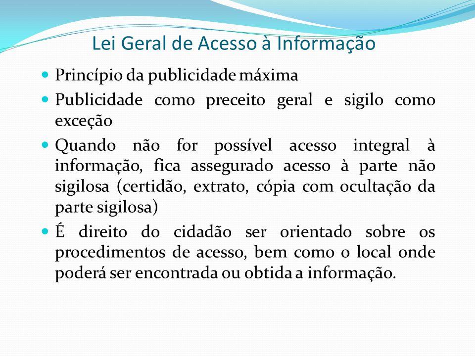 Lei Geral de Acesso à Informação