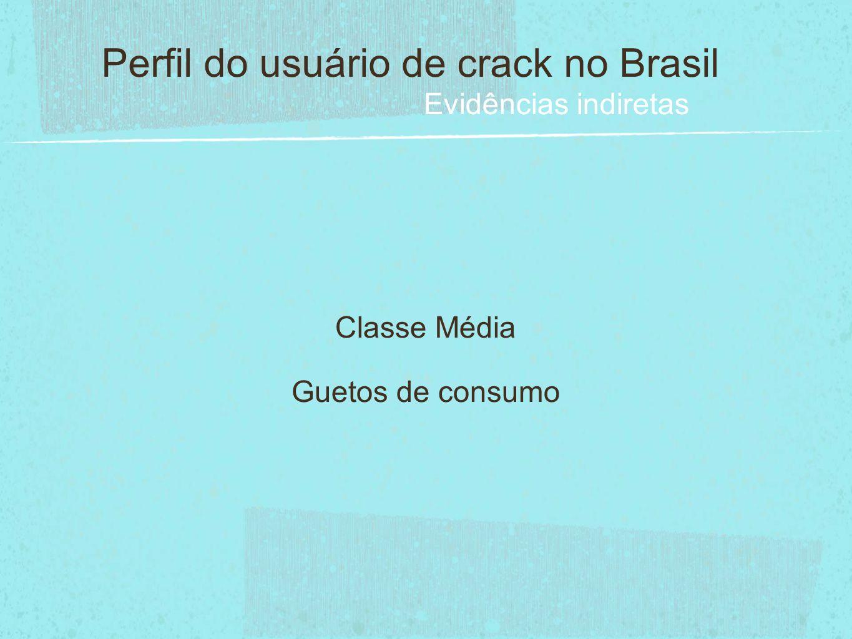 Perfil do usuário de crack no Brasil