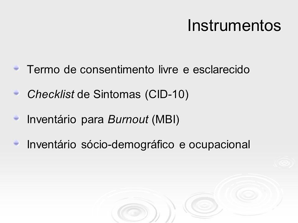 Instrumentos Termo de consentimento livre e esclarecido
