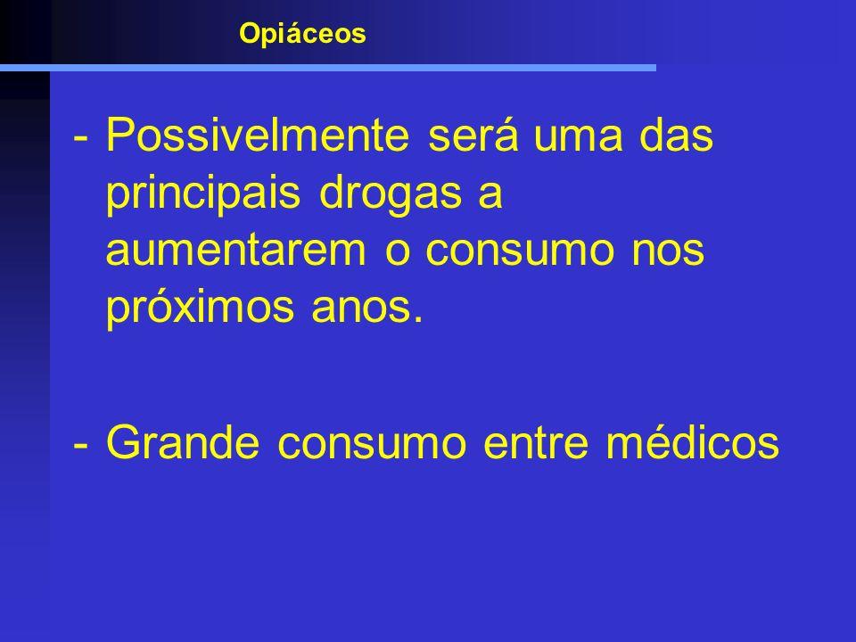 Grande consumo entre médicos