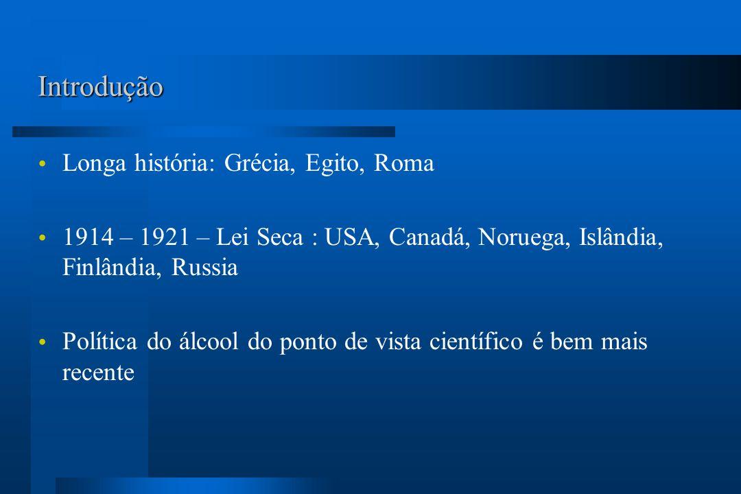 Introdução Longa história: Grécia, Egito, Roma
