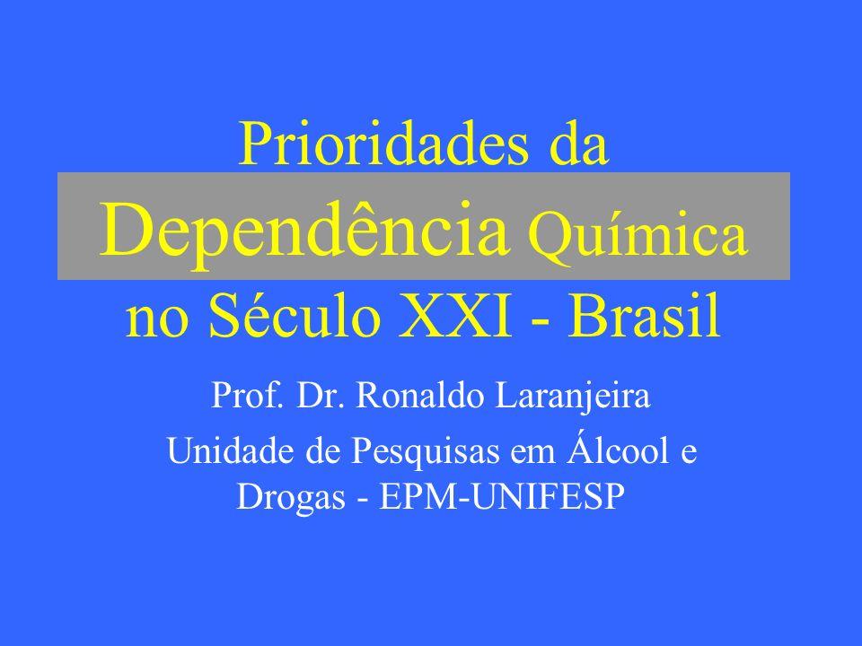 Prioridades da Dependência Química no Século XXI - Brasil