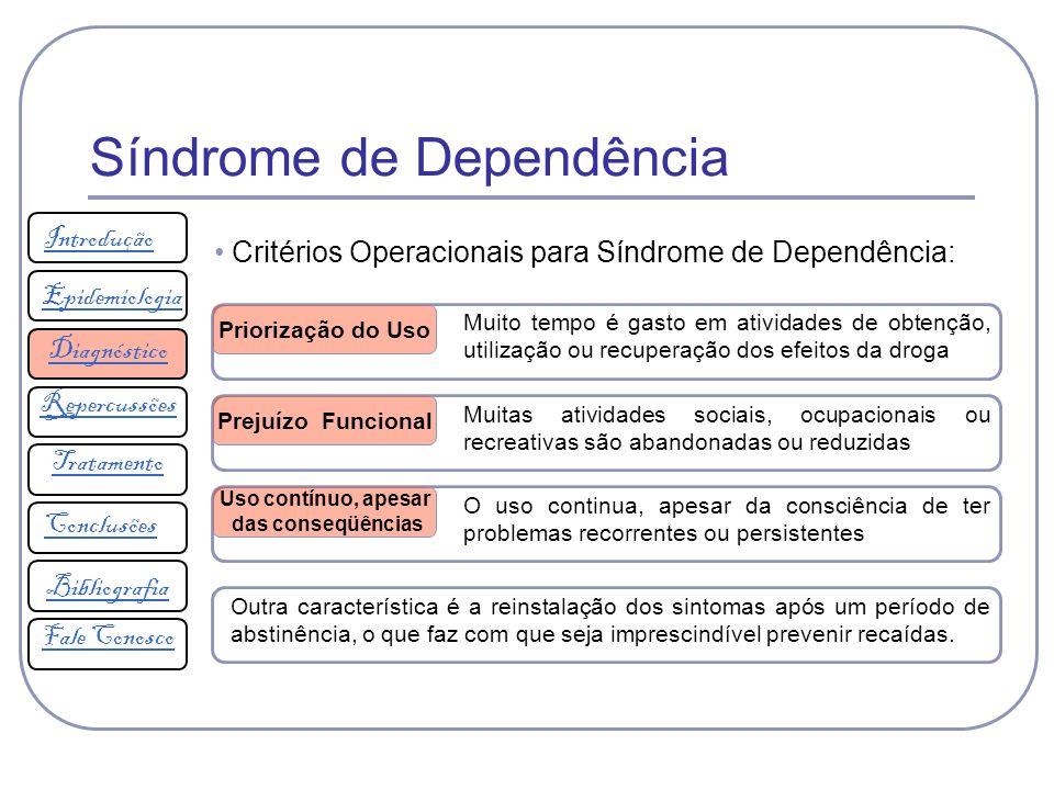 Síndrome de Dependência