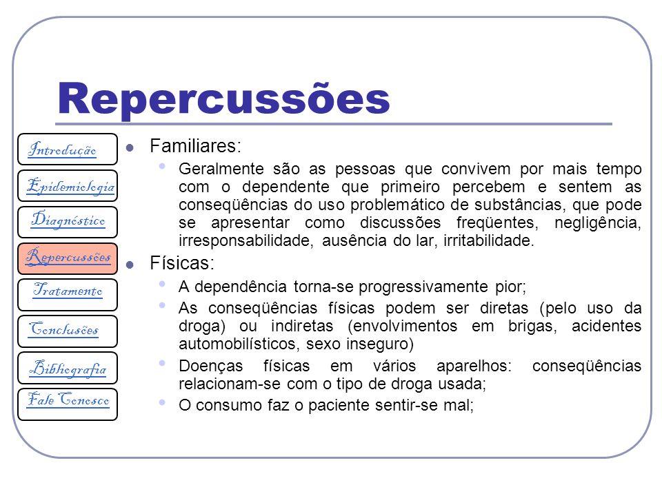 Repercussões Familiares: Introdução Epidemiologia Físicas: Diagnóstico