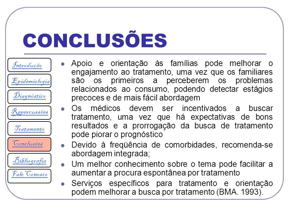 CONCLUSÕES Introdução.