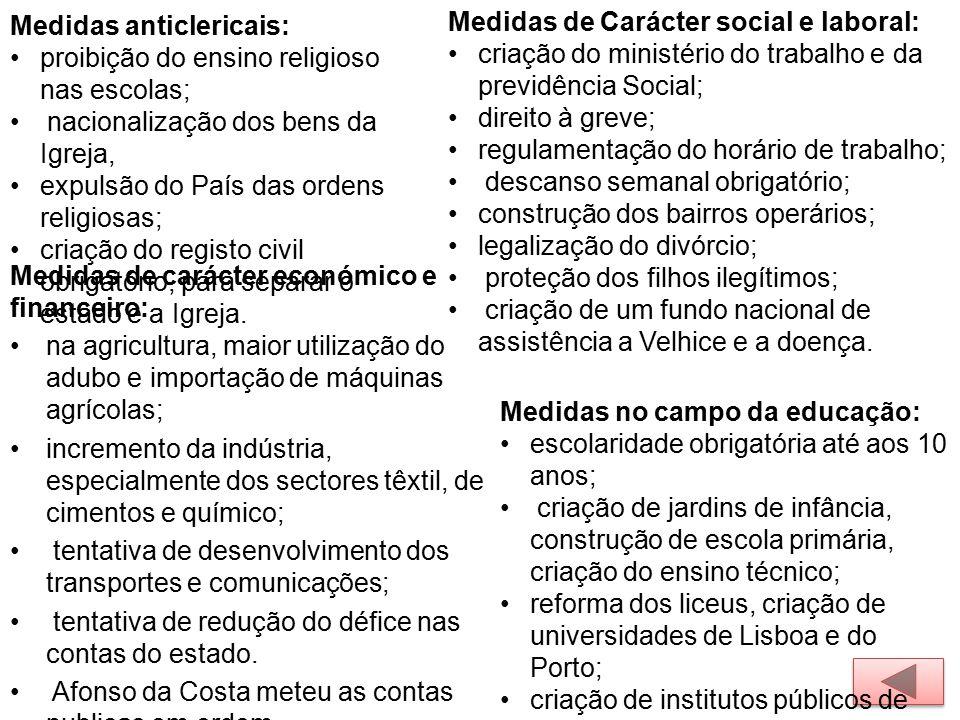Medidas anticlericais: