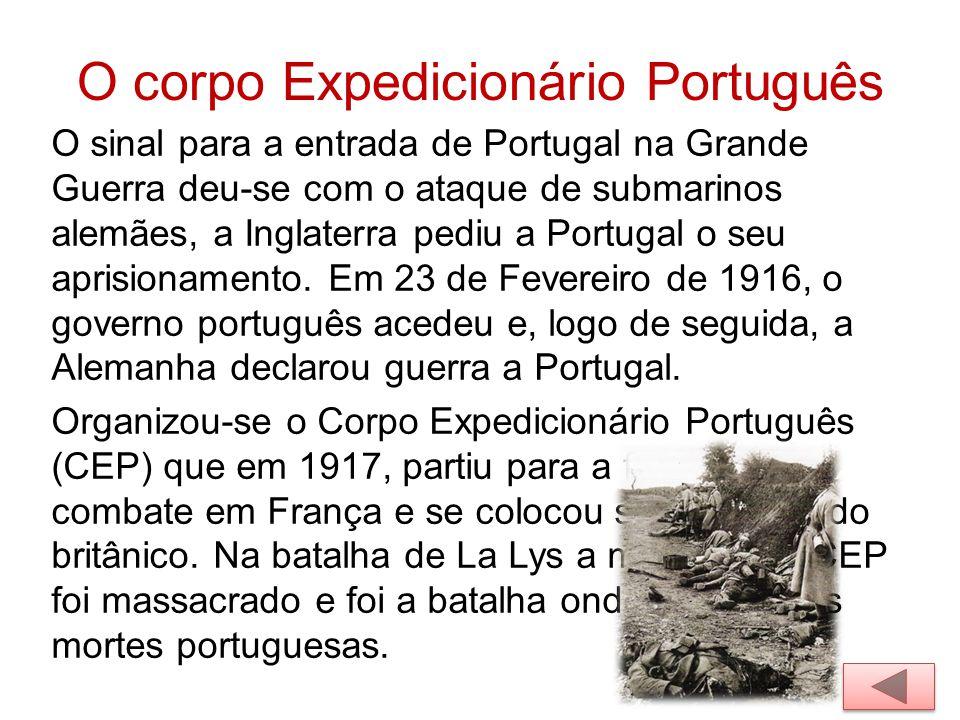 O corpo Expedicionário Português