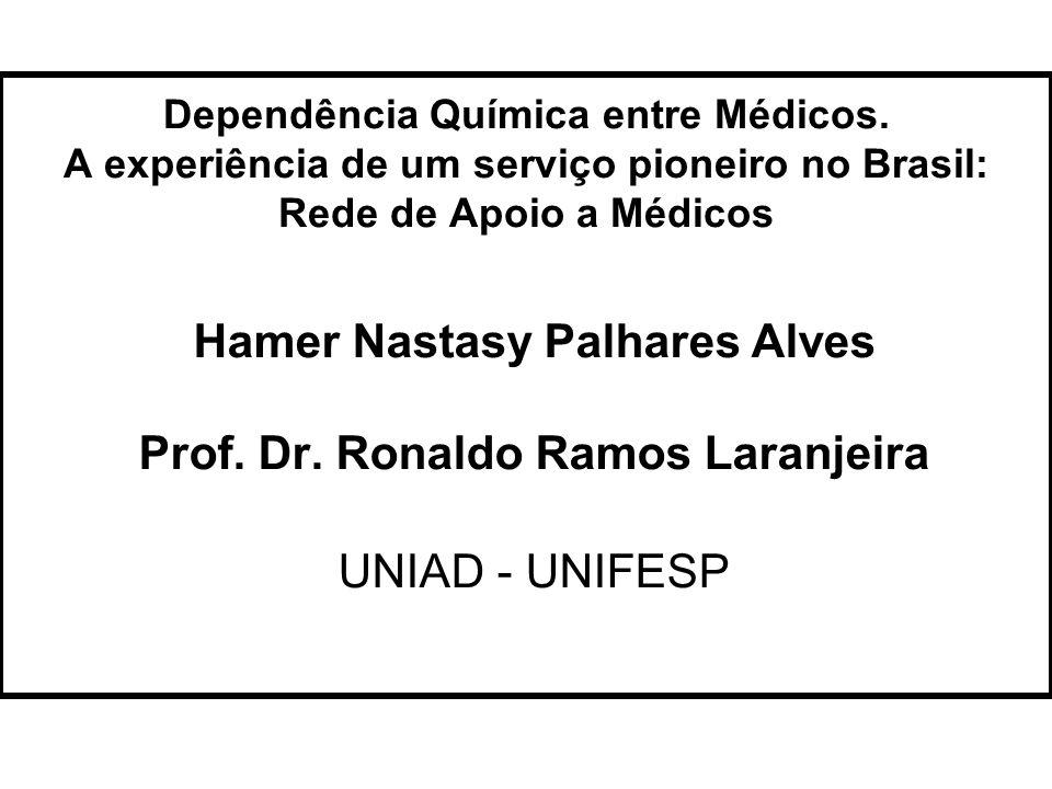 Hamer Nastasy Palhares Alves Prof. Dr. Ronaldo Ramos Laranjeira