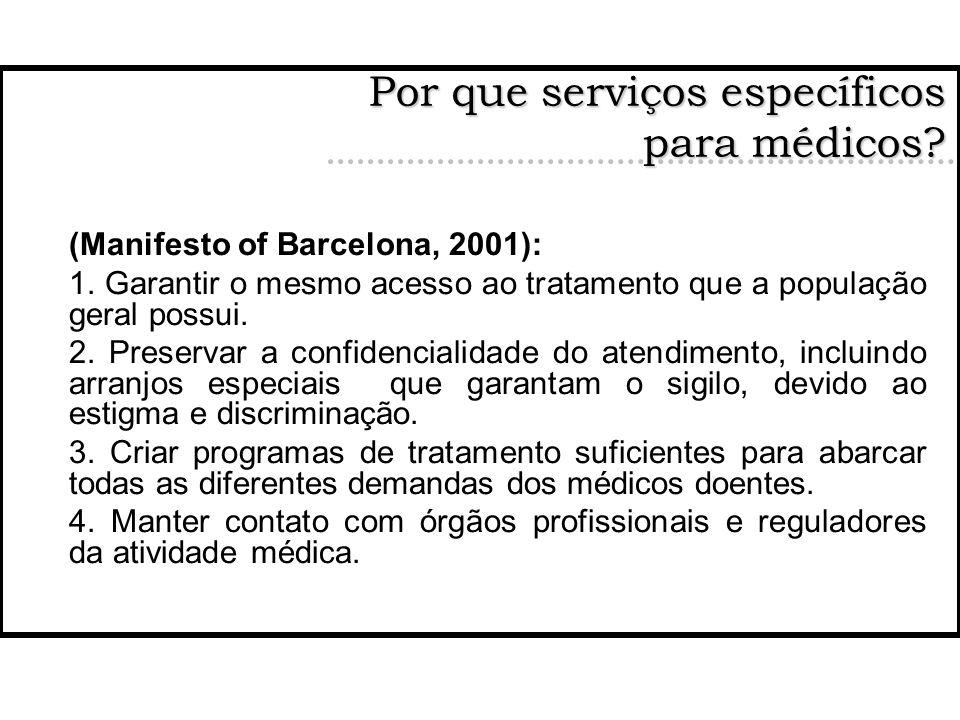 Por que serviços específicos para médicos