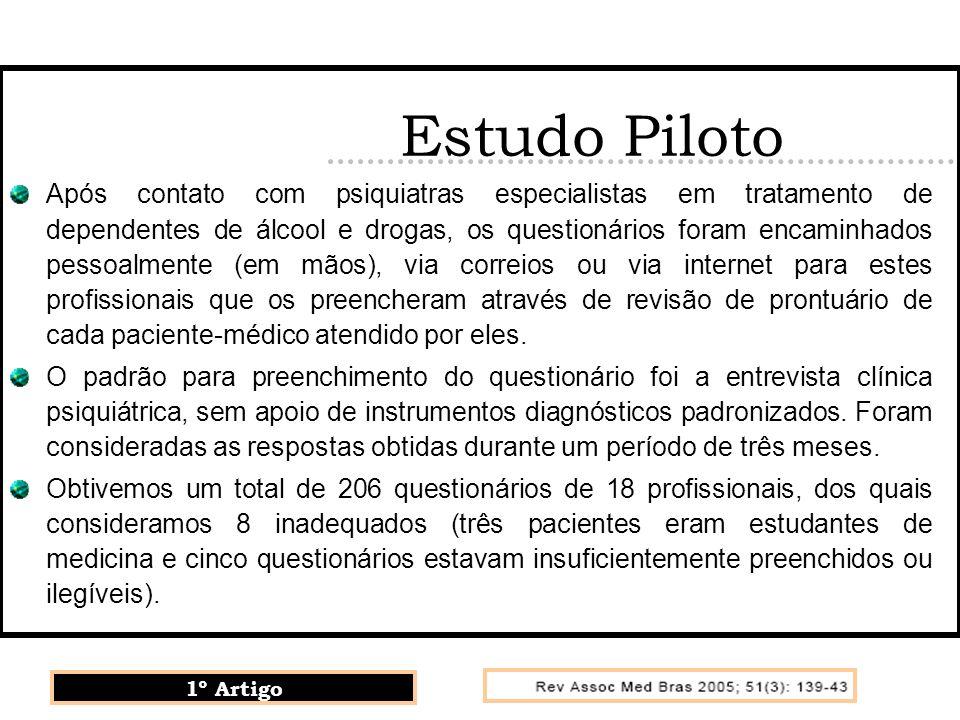 Estudo Piloto