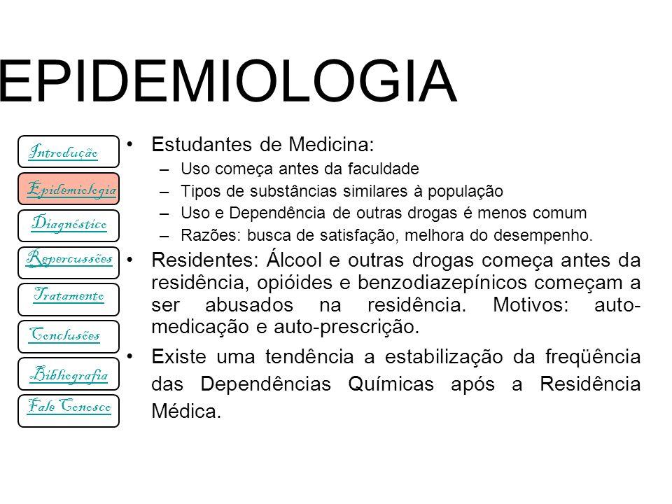 EPIDEMIOLOGIA Estudantes de Medicina: