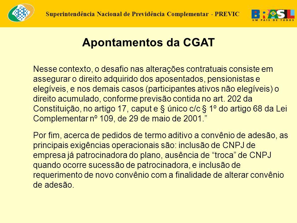 Apontamentos da CGAT