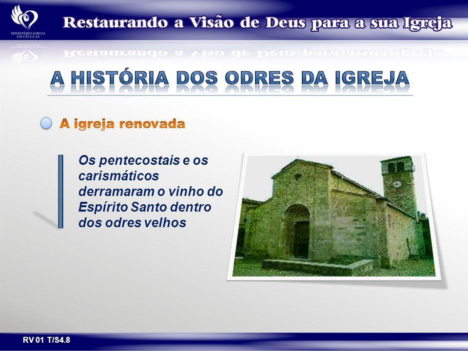 A história dos odres da igreja