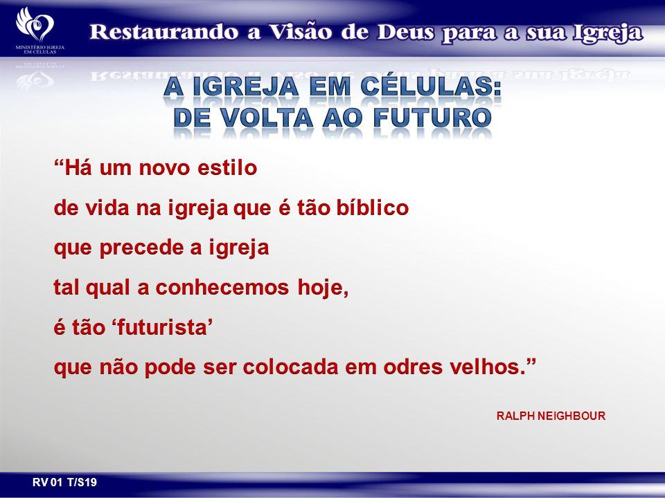A IGREJA EM CÉLULAS: DE VOLTA AO FUTURO