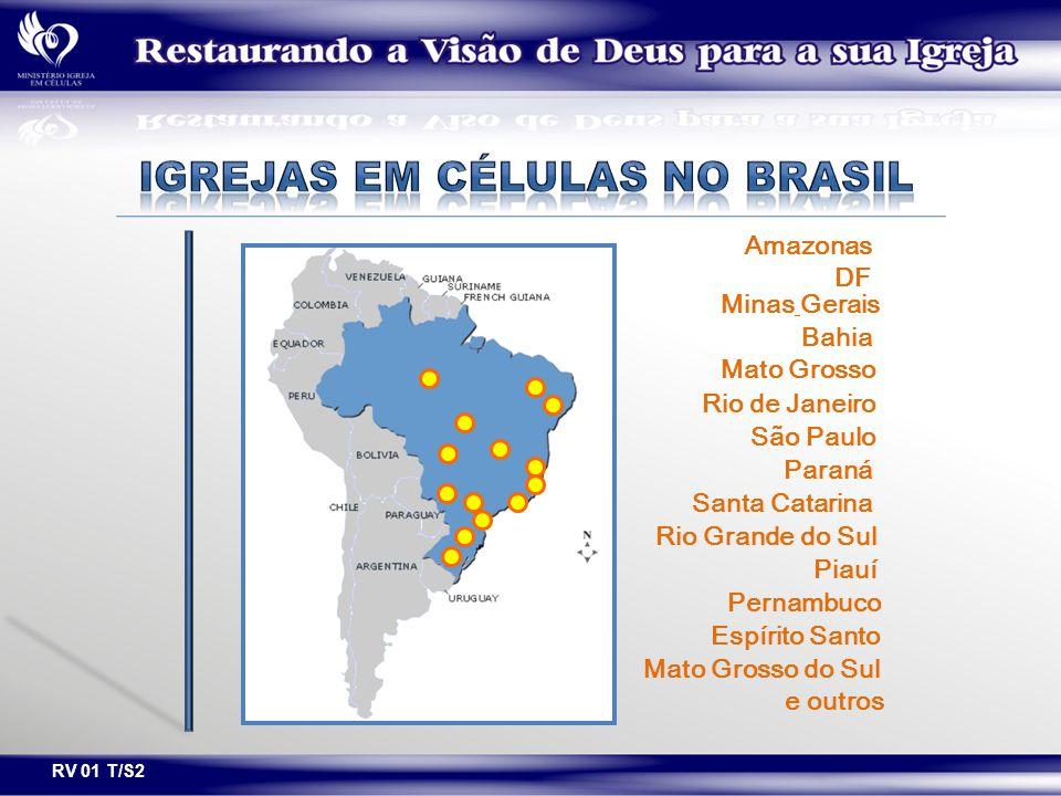IGREJAS EM CÉLULAS NO BRASIL