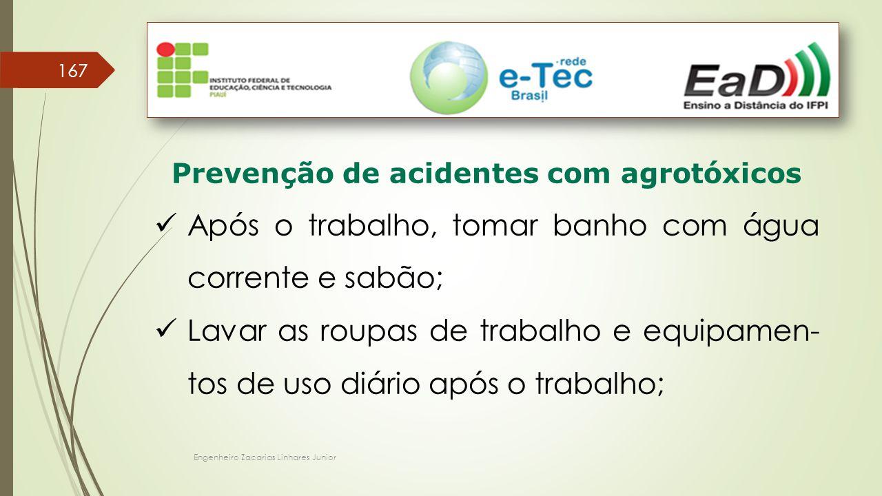Prevenção de acidentes com agrotóxicos