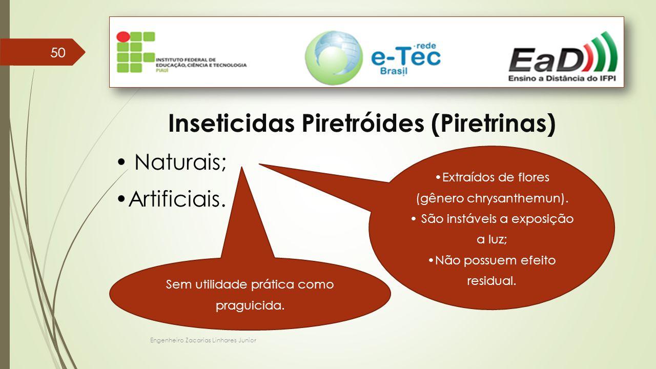 Inseticidas Piretróides (Piretrinas)