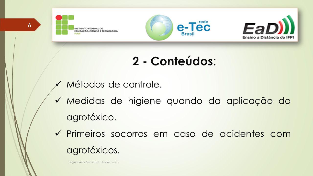 2 - Conteúdos: Métodos de controle.