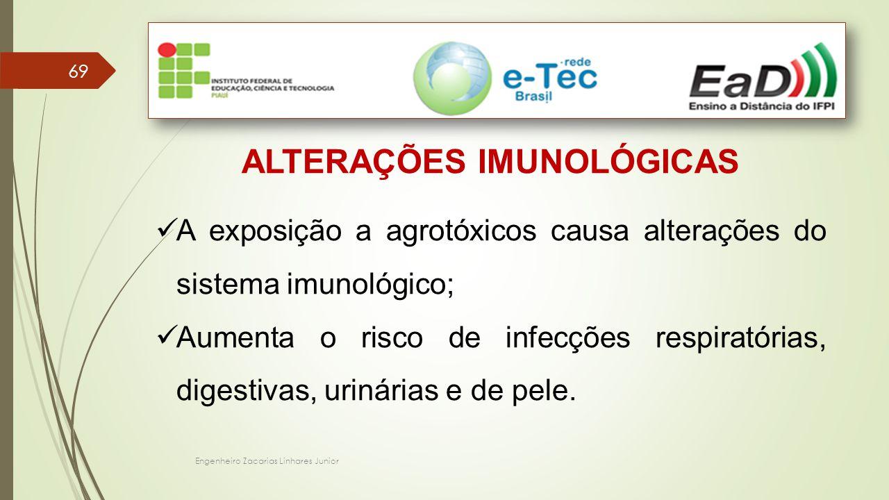 ALTERAÇÕES IMUNOLÓGICAS