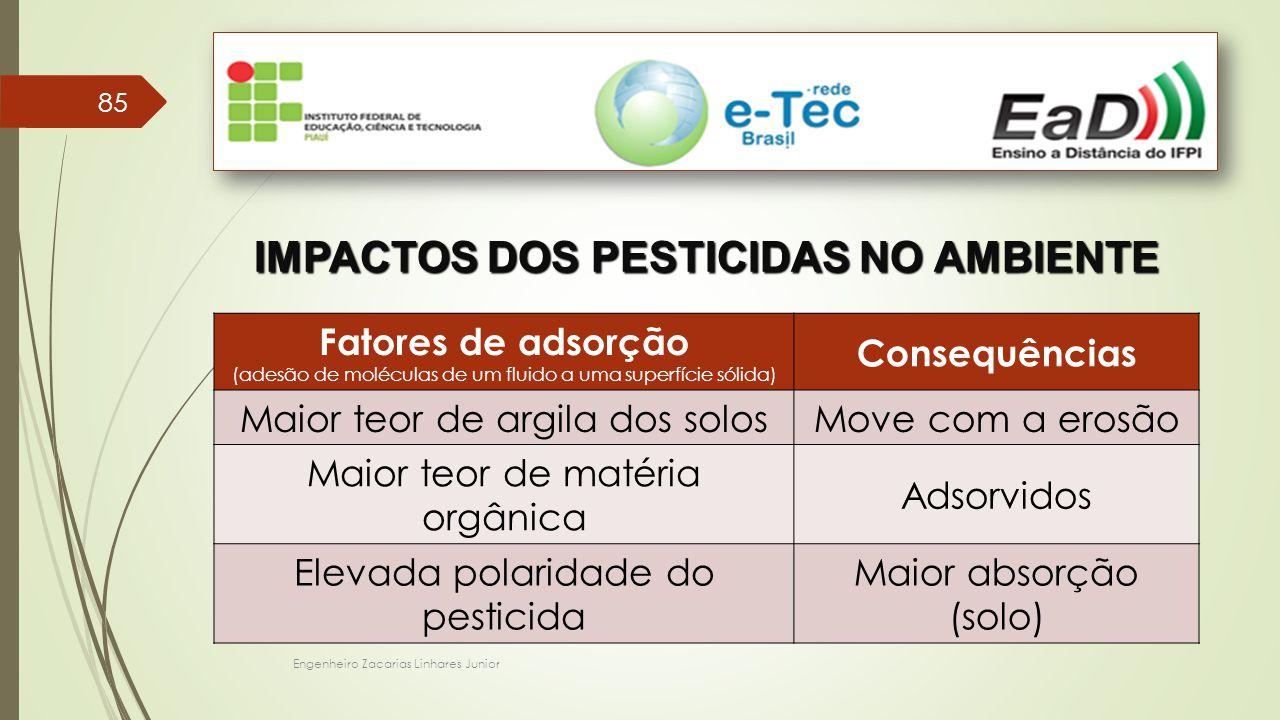 IMPACTOS DOS PESTICIDAS NO AMBIENTE