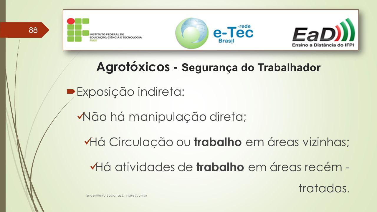 Agrotóxicos - Segurança do Trabalhador
