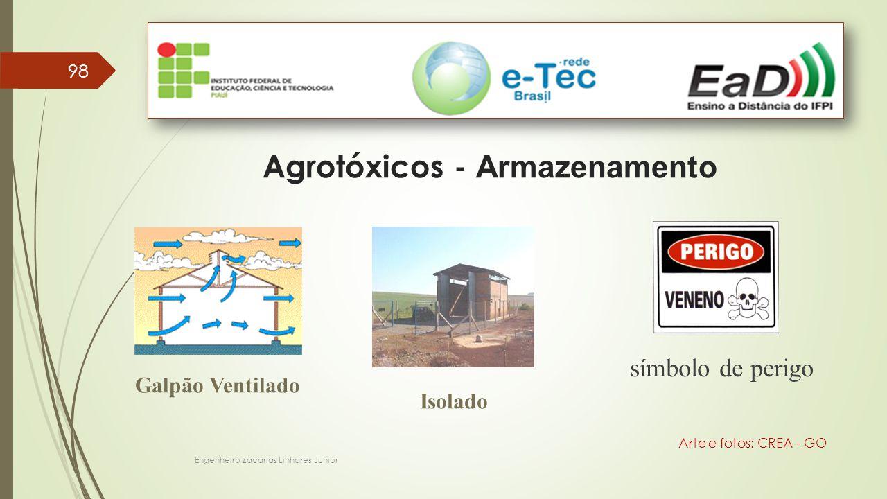 Agrotóxicos - Armazenamento