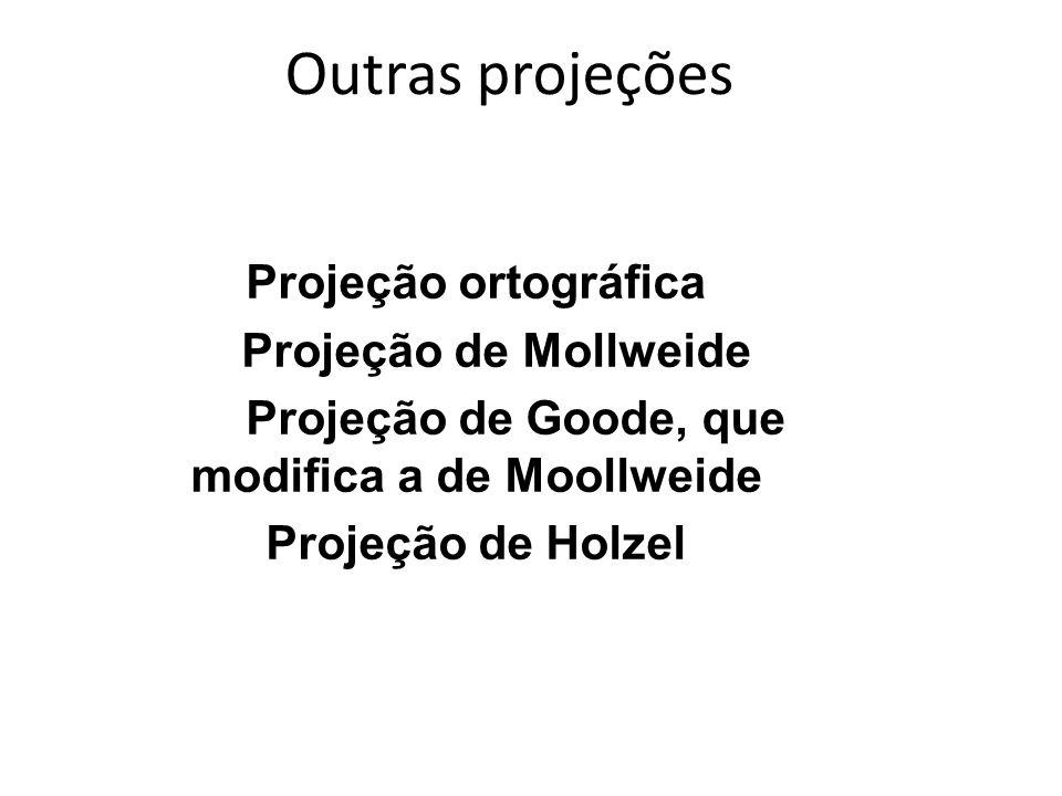 Projeção de Goode, que modifica a de Moollweide