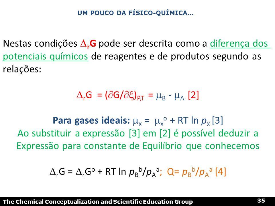 Um pouco da físico-Química…