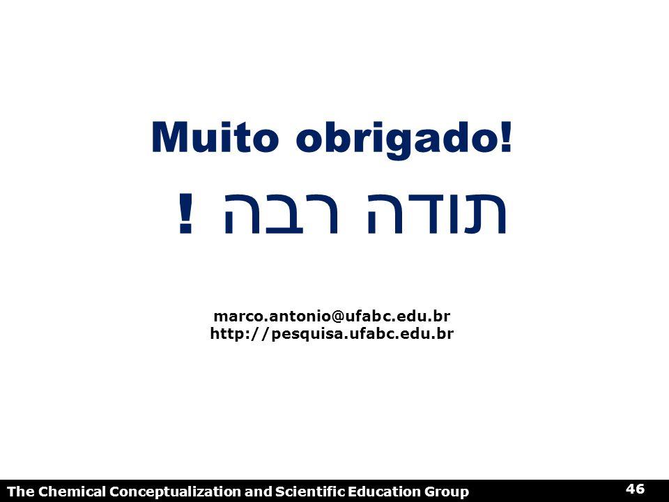 ! תודה רבה Muito obrigado! marco.antonio@ufabc.edu.br
