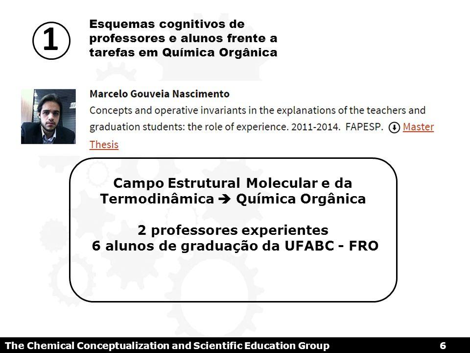 1 Campo Estrutural Molecular e da Termodinâmica  Química Orgânica
