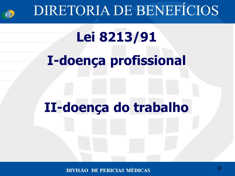 I-doença profissional
